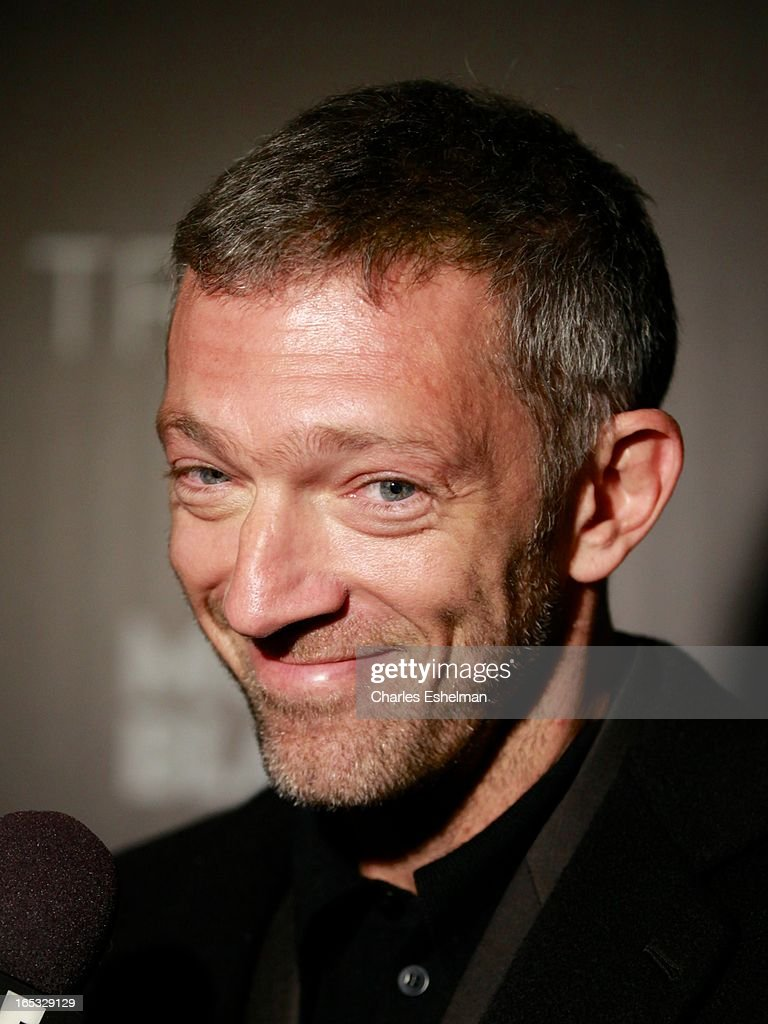 Actor <a gi-track='captionPersonalityLinkClicked' href=/galleries/search?phrase=Vincent+Cassel&family=editorial&specificpeople=220849 ng-click='$event.stopPropagation()'>Vincent Cassel</a> attends The Cinema Society & Montblanc Host Fox Searchlight Pictures' 'Trance' at SVA Theatre on April 2, 2013 in New York City.