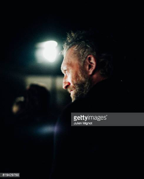 Actor Vincent Cassel is photographed for Grazia Magazine on May 20 2016 in Cannes France