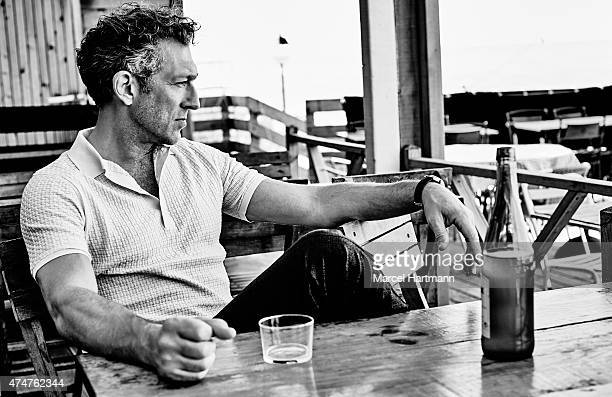 Actor Vincent Cassel is photographed for Self Assignment on April 28 2015 in Biarritz France