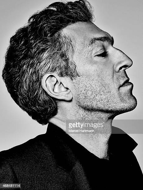 Actor Vincent Cassel is photographed for Self Assignment on December 9 2013 in Paris France