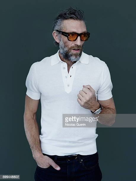 Actor Vincent Cassel is photographed for Self Assignment on May 18 2016 in Cannes France