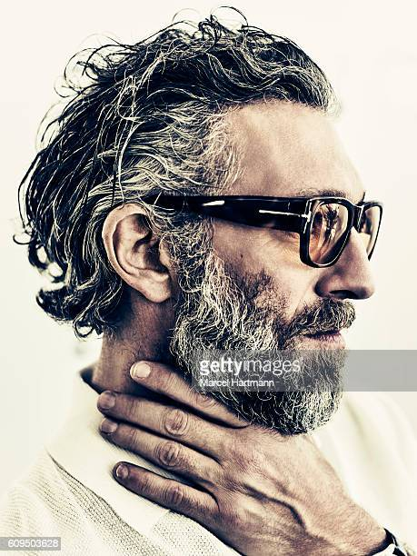 Actor Vincent Cassel is photographed for Vanity Fair Italy on May 12 2016 in Cannes France