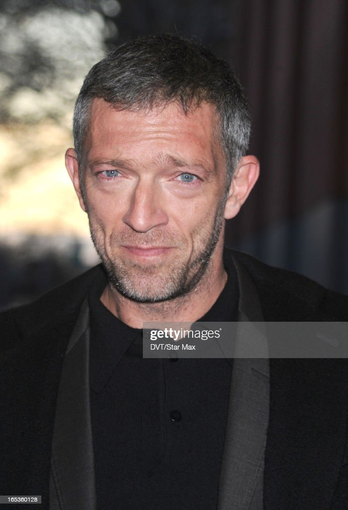 Actor <a gi-track='captionPersonalityLinkClicked' href=/galleries/search?phrase=Vincent+Cassel&family=editorial&specificpeople=220849 ng-click='$event.stopPropagation()'>Vincent Cassel</a> is seen on April 2, 2013 in New York City.