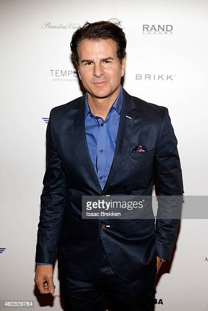 Actor Vincent De Paul arrives at the St Regis Rand Luxury official ICM Partners reception during Sundance on January 26 2015 in Park City Utah