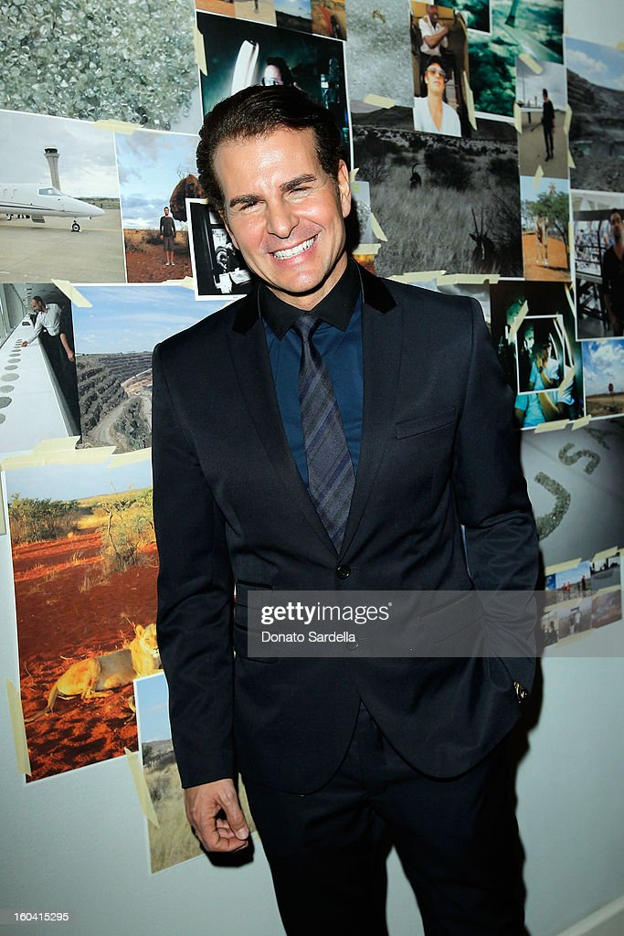 Actor Vincent De Paul attends Hoorsenbuhs for Forevermark Collection cocktail party at Chateau Marmont on January 30, 2013 in Los Angeles, California.
