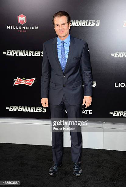 Actor Vincent De Paul attends Lionsgate Films' 'The Expendables 3' premiere at TCL Chinese Theatre on August 11 2014 in Hollywood California