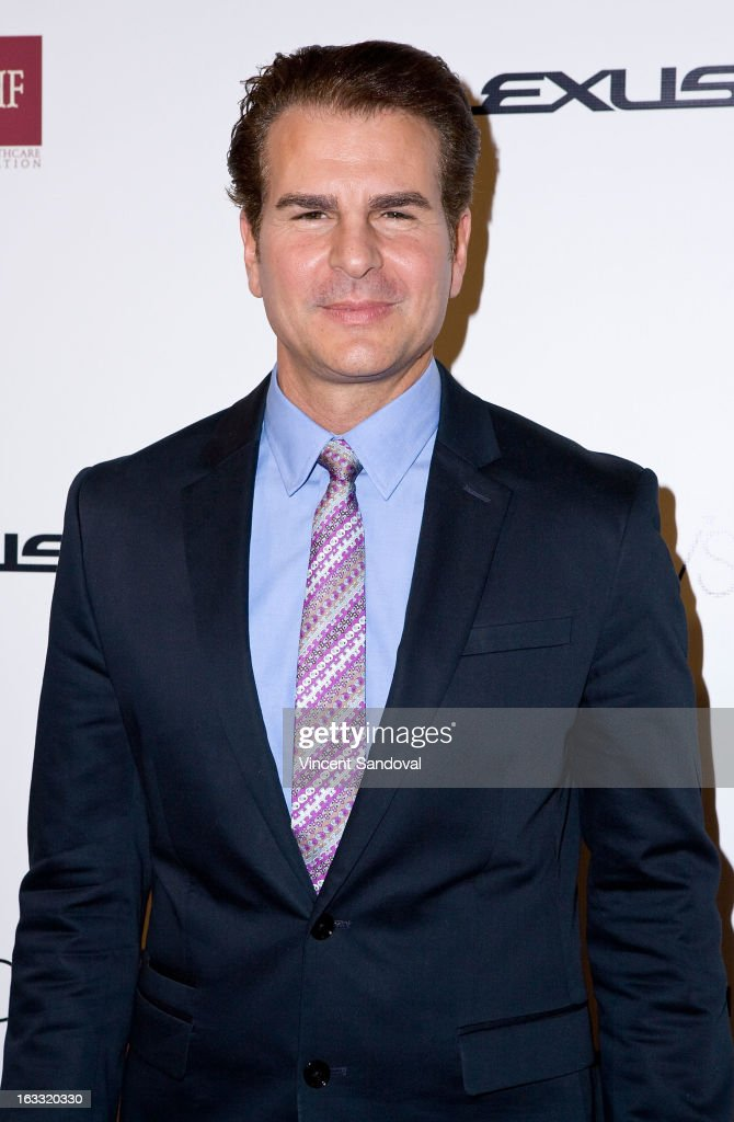 Actor Vincent De Paul attends OUT magazine's celebration of LA fashion week with OUT fashion benefiting the AIDS Healthcare Foundation at Pacific Design Center on March 7, 2013 in West Hollywood, California.