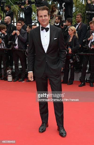 Actor Vincent De Paul attends the 'Foxcatcher' Premiere at the 67th Annual Cannes Film Festival on May 19 2014 in Cannes France