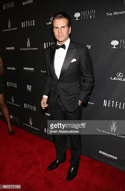 Actor Vincent De Paul attends The Weinstein Company Netflix's 2014 Golden Globes After Party presented by Bombardier FIJI Water Lexus Laura Mercier...