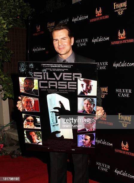 Actor Vincent De Paul attends the Wrap Party for the film 'Silver Case' on January 15 2011 in West Hollywood California