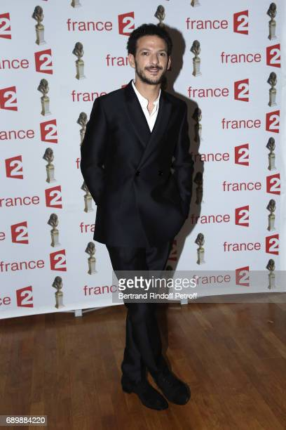 Actor Vincent Dedienne attends 'La Nuit des Molieres 2017' at Folies Bergeres on May 29 2017 in Paris France