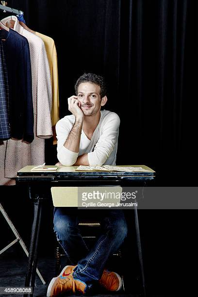 Actor Vincent Dedienne is photographed for Self Assignment on October 16 2014 in Paris France