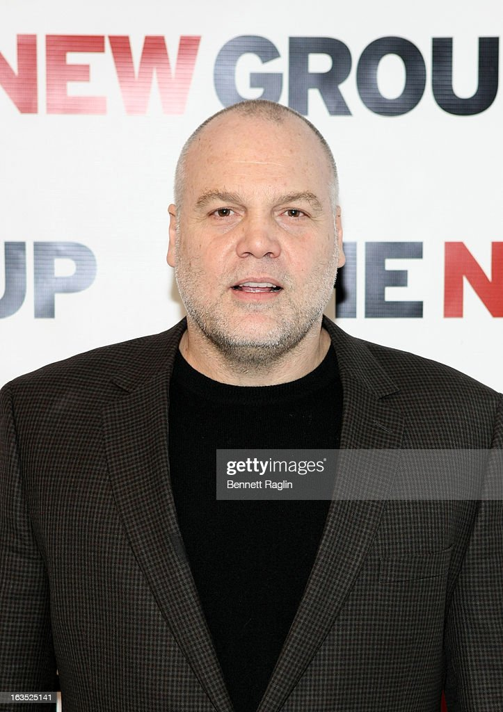Actor Vincent D'Onofrio attends The New Group Bright Lights Off-Broadway 2013 Gala>> at Tribeca Rooftop on March 11, 2013 in New York City.