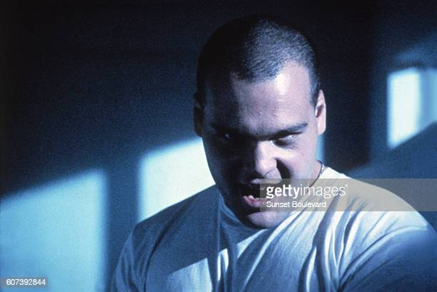 Actor Vincent d'Onofrio on the set of 'Full Metal Jacket'