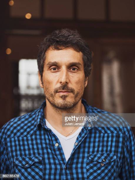 Actor Vincent Elbaz is photographed for Self Assignment on September 28 2017 in Dinard France