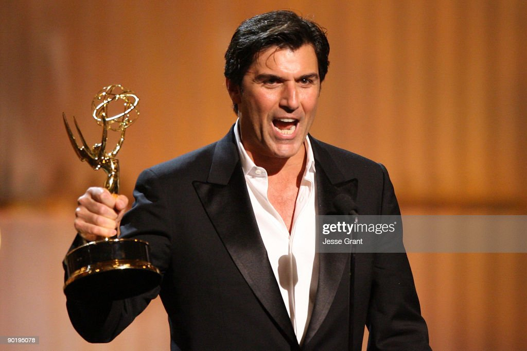 Actor Vincent Irizarry onstage at the 36th Annual Daytime Emmy Awards at The Orpheum Theatre on August 30, 2009 in Los Angeles, California.