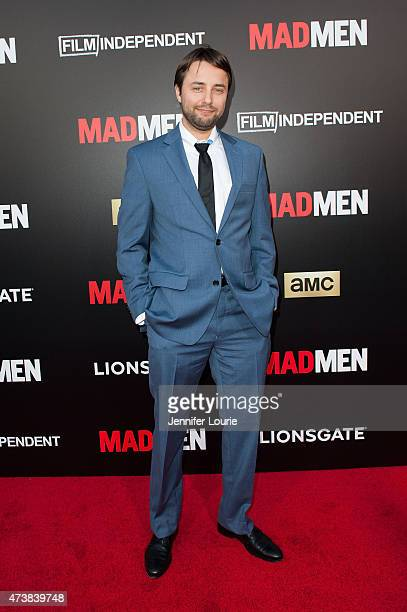 Actor Vincent Kartheiser arrives at the Film Independent special screening of 'Mad Men' at The Ace Hotel Theater on May 17 2015 in Los Angeles...