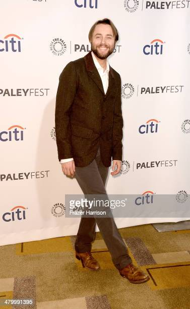 Actor Vincent Kartheiser arrives at The Paley Center For Media's PaleyFest 2014 Honoring 'Mad Men' at Dolby Theatre on March 21 2014 in Hollywood...