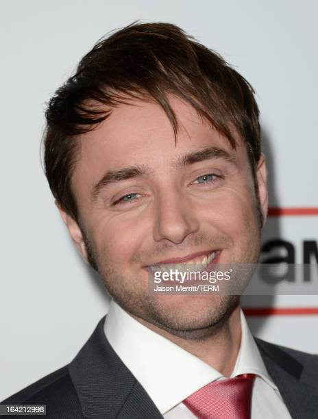 Actor Vincent Kartheiser arrives at the Premiere of AMC's 'Mad Men' Season 6 at DGA Theater on March 20 2013 in Los Angeles California