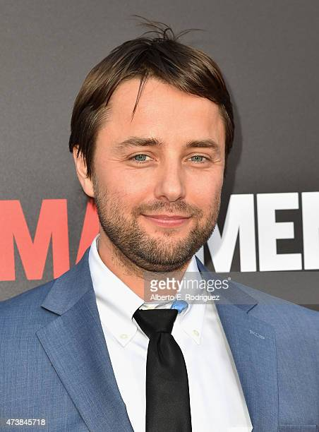 Actor Vincent Kartheiser attends AMC Film Independent and Lionsgate Present 'Mad Men' Live Read at The Theatre at Ace Hotel Downtown LA on May 17...