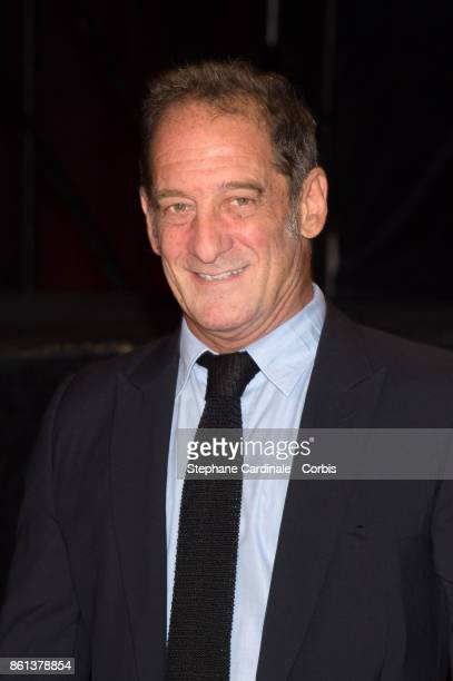 Actor Vincent Lindon attends the Opening Ceremony of the 9th Film Festival Lumiere on October 14 2017 in Lyon France