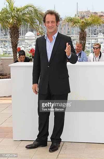 Actor Vincent Lindon attends the 'Pater' Photocall during the 64th Cannes Film Festival at the Palais des Festivals on May 18 2011 in Cannes France