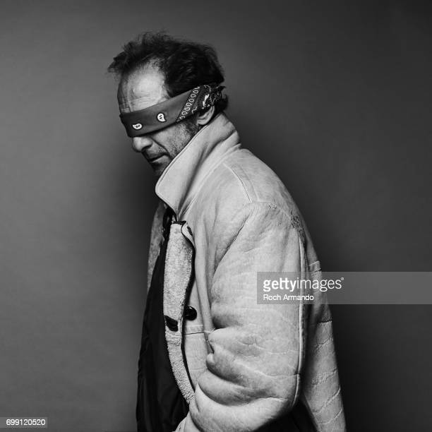 Actor Vincent Lindon is photographed for Self Assignment on September 01 2014 in Paris France