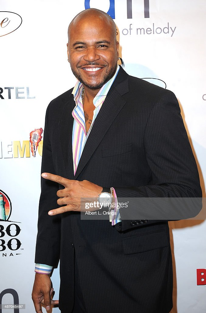 Actor Vincent M. Ward attends Britticares Toy Drive with a benefit concert by G Tom Mac & Many Of Odd Nature in conjunction with publicist Michael Arnoldi's Birthday held at Cabo Wabo Cantina on December 15, 2013 in Hollywood, California.