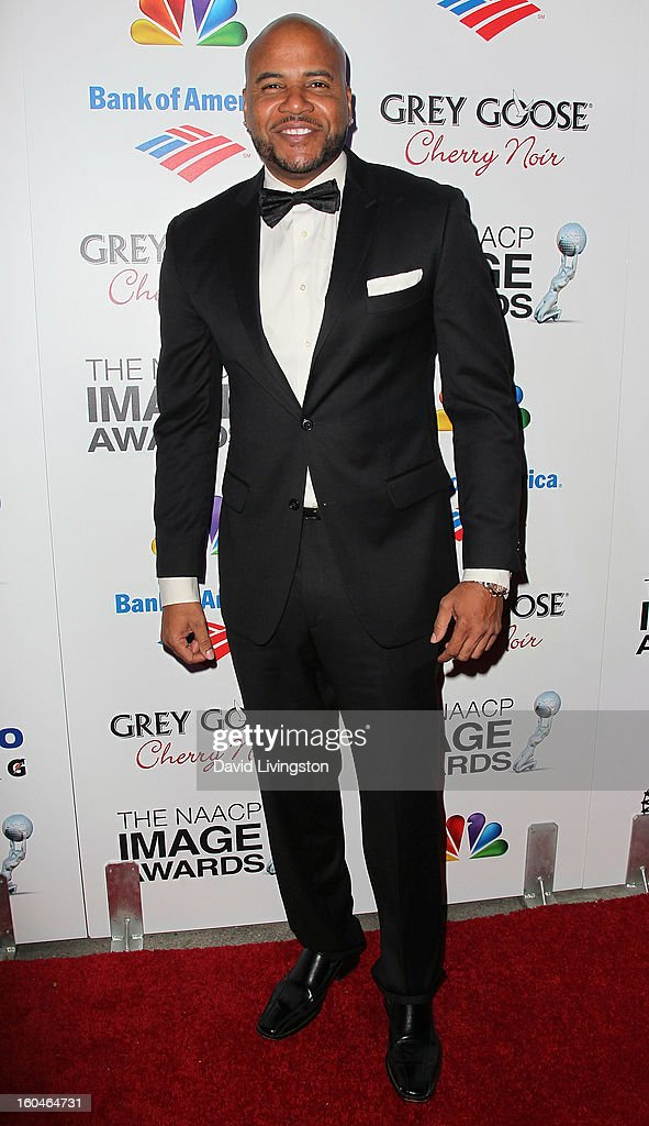 Actor Vincent M. Ward attends the NAACP Image Awards Pre-Gala at Vibiana on January 31, 2013 in Los Angeles, California.