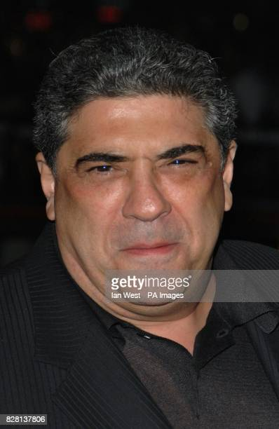 Actor Vincent Pastore arrives