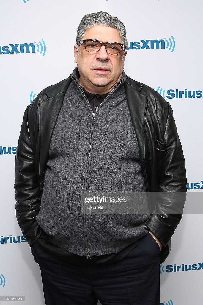 Actor <a gi-track='captionPersonalityLinkClicked' href=/galleries/search?phrase=Vincent+Pastore&family=editorial&specificpeople=215270 ng-click='$event.stopPropagation()'>Vincent Pastore</a> visits the SiriusXM Studios on April 18, 2014 in New York City.