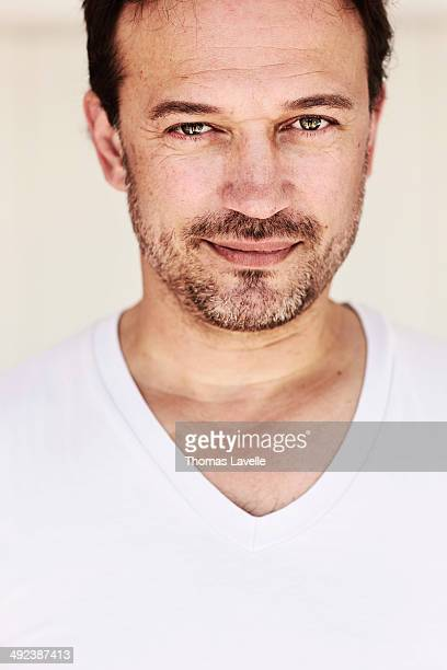 Actor Vincent Perez is photographed for Self Assignment on May 17 2014 in Cannes France