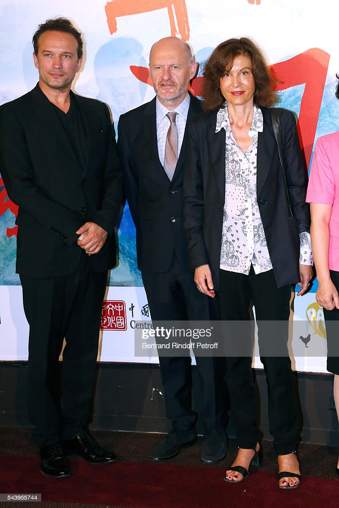 Actor <a gi-track='captionPersonalityLinkClicked' href=/galleries/search?phrase=Vincent+Perez&family=editorial&specificpeople=243109 ng-click='$event.stopPropagation()'>Vincent Perez</a>, President of Unifrance, <a gi-track='captionPersonalityLinkClicked' href=/galleries/search?phrase=Jean-Paul+Salome&family=editorial&specificpeople=2488422 ng-click='$event.stopPropagation()'>Jean-Paul Salome</a> and Director <a gi-track='captionPersonalityLinkClicked' href=/galleries/search?phrase=Anne+Fontaine&family=editorial&specificpeople=601319 ng-click='$event.stopPropagation()'>Anne Fontaine</a> attend the 6th Chinese Film Festival