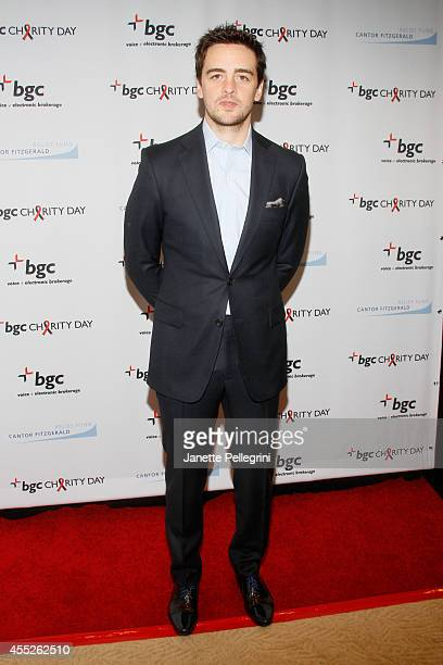 Actor Vincent Piazza attends Annual Charity Day Hosted By Cantor Fitzgerald And BGC at BGC Partners INC on September 11 2014 in New York City