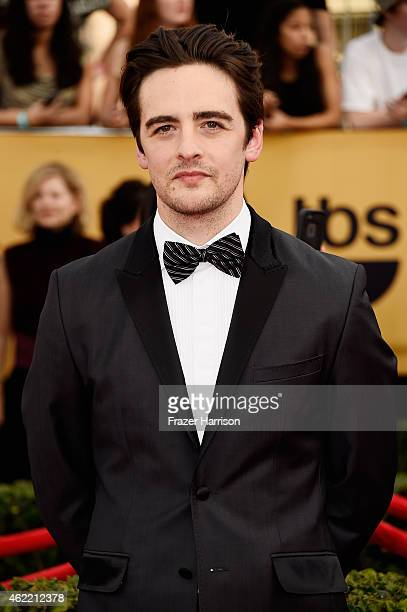 Actor Vincent Piazza attends the 21st Annual Screen Actors Guild Awards at The Shrine Auditorium on January 25 2015 in Los Angeles California