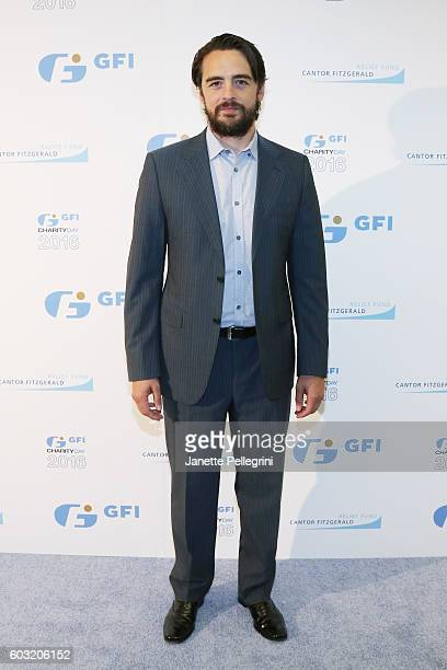 Actor Vincent Piazza attends the Annual Charity Day hosted by Cantor Fitzgerald BGC and GFI at GFI Securities on September 12 2016 in New York City