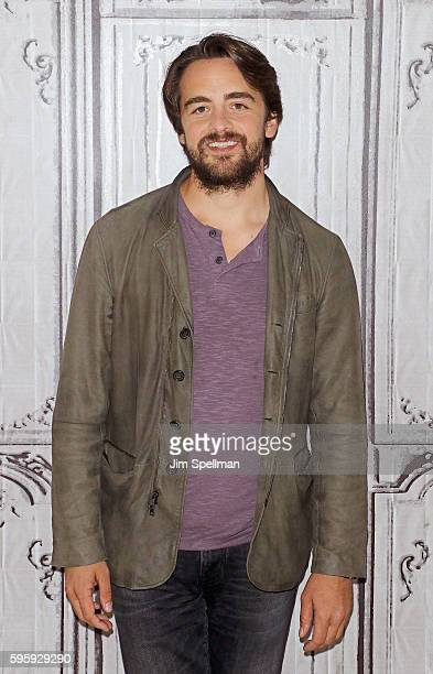 Actor Vincent Piazza attends the AOL Build Presents Clea DuVall Vincent Piazza Natasha Lyonne discussing their film 'The Intervention' at AOL HQ on...