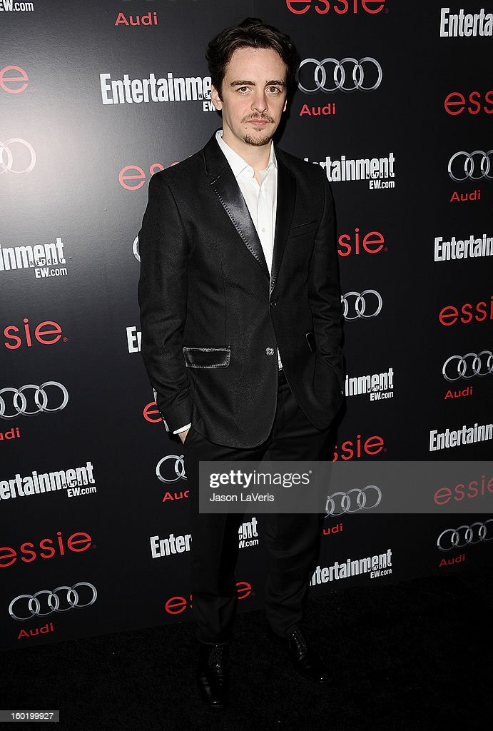 Actor Vincent Piazza attends the Entertainment Weekly Screen Actors Guild Awards pre-party at Chateau Marmont on January 26, 2013 in Los Angeles, California.