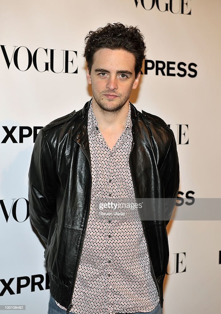 Actor Vincent Piazza attends the EXPRESS 30th anniversary party at Eyebeam on May 20, 2010 in New York City.
