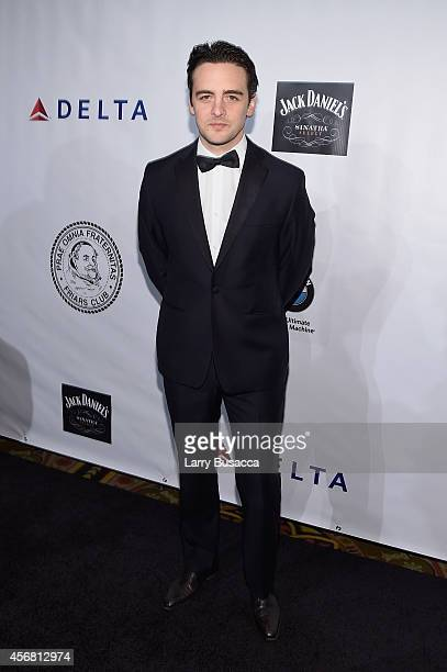 Actor Vincent Piazza attends the Friars Foundation Gala honoring Robert De Niro and Carlos Slim at The Waldorf=Astoria on October 7 2014 in New York...
