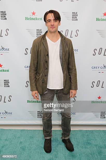 Actor Vincent Piazza attends the SOLS launch party for the new SOLS Flex on October 1 2015 in New York City SOLS Flex are bespoke 3Dprinted insoles...