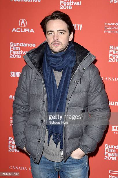 Actor Vincent Piazza attends the 'The Intervention' Premiere during the 2016 Sundance Film Festival at Eccles Center Theatre on January 26 2016 in...