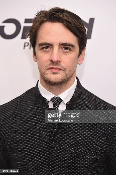 Actor Vincent Piazza attends 'The Wannabe' New York premiere at Crosby Street Hotel on December 2 2015 in New York City