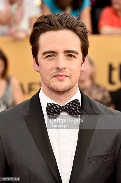 Actor Vincent Piazza attends TNT's 21st Annual Screen Actors Guild Awards at The Shrine Auditorium on January 25 2015 in Los Angeles California...