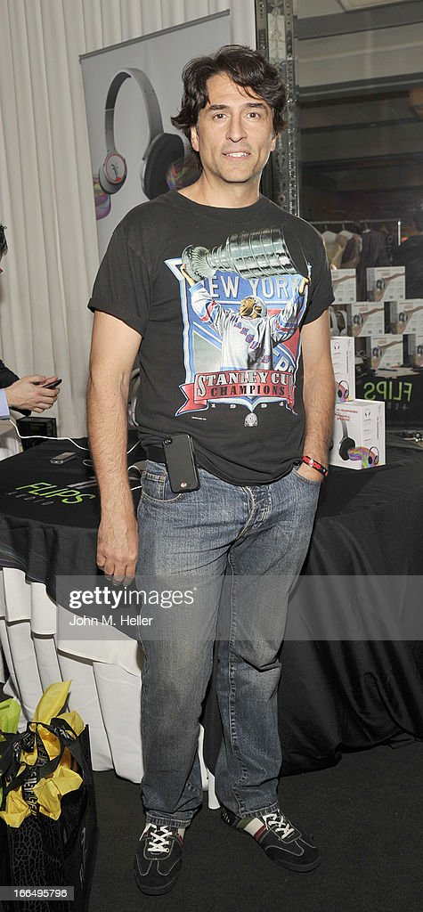 Actor Vincent Spano attends the Flips Audio MTV Awards Secret Room gifting suite at the SLS Hotel on April 12, 2013 in Beverly Hills, California.