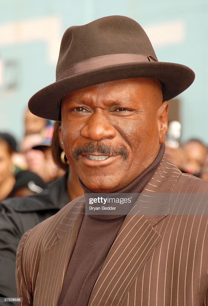 Actor Ving Rhames attends the 'Mission: Impossible III' premiere in Harlem hosted by BET at the Magic Johnson Theatres on May 3, 2006 in New York City.