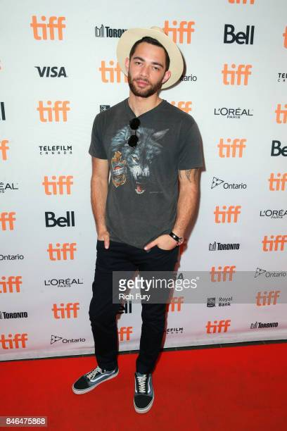 Actor Vinnie Bennett attends 'Human Traces' Photo Call during the 2017 Toronto International Film Festival at TIFF Bell Lightbox on September 12 2017...