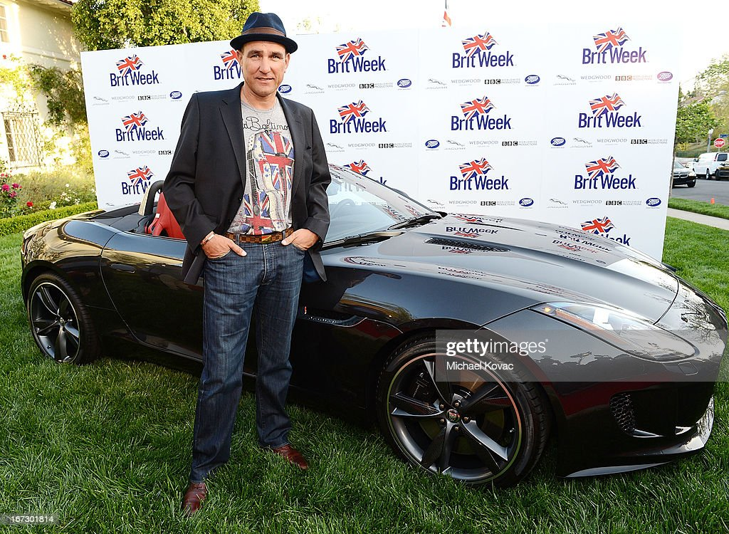 Actor Vinnie Jones attends the BritWeek Los Angeles Red Carpet Launch Party with Official Vehicle Sponsor Jaguar on April 23, 2013 in Los Angeles, California.
