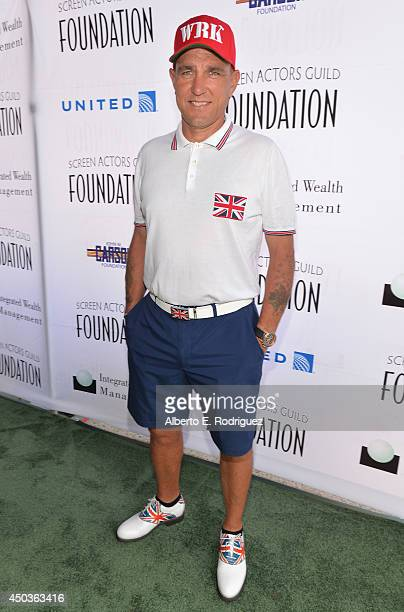 Actor Vinnie Jones attends the Screen Actor's Guild Foundation's 5th Annual 'Actors Fore Actors' Los Angeles Golf Classic at Lakeside Golf Club on...