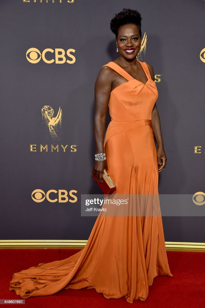 Actor Viola Davis attends the 69th Annual Primetime Emmy Awards at Microsoft Theater on September 17, 2017 in Los Angeles, California.